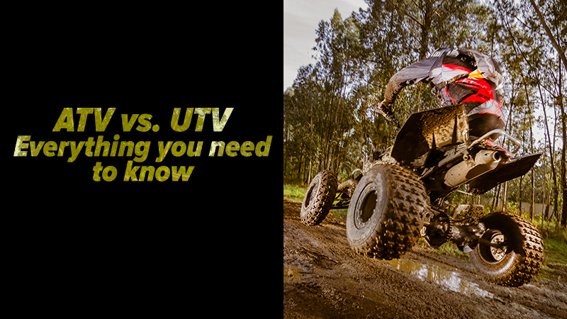 Can You Drive On A Flat Tire >> ATV vs. UTV: Everything You Need to Know
