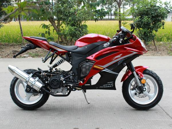 Extreme Motor Sales > DF50SST 50cc Super Bike Ninja Scooter Moped Bicycle , with CVT ...