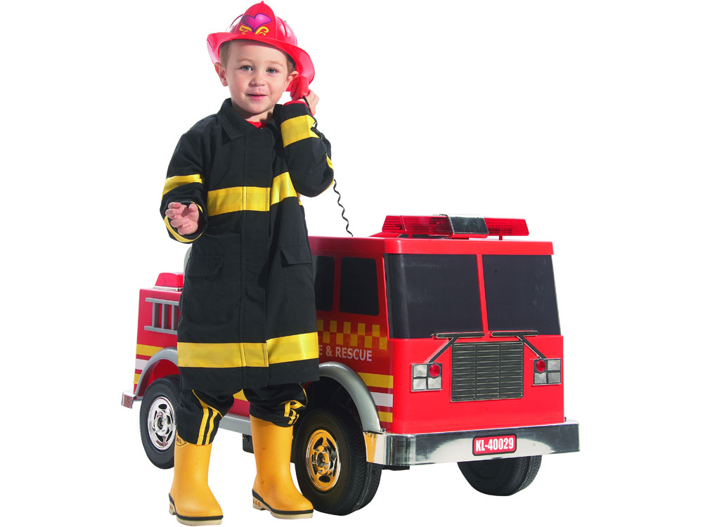 Extreme Fire Truck Ride On 12v Power Wheels Toy Electric Kalee