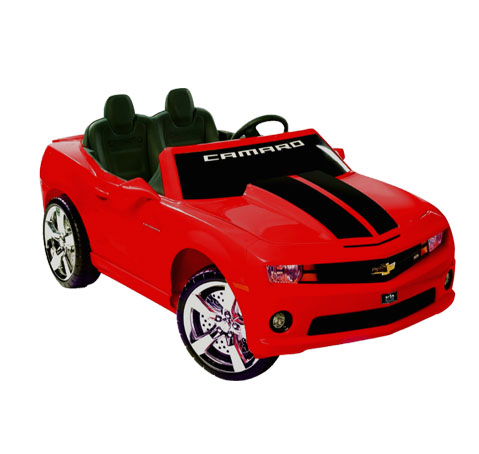Car Battery Size Chart >> Extreme Camaro Ride-On 12V Power Wheels Toy Electric Car Chevrolet