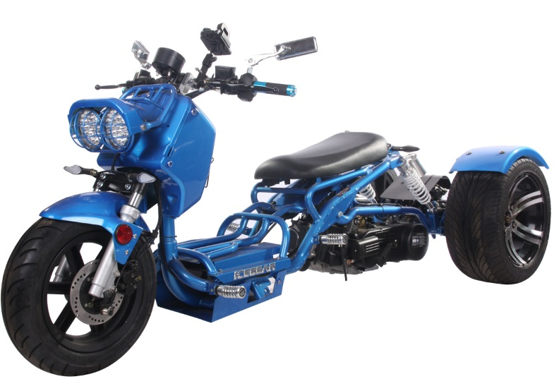 Extreme Auto Sales >> Pitbull MADDOG 150cc Motor Trike PST150-19N Scooter Trike ...