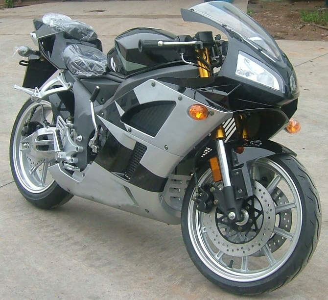 phoenix 125cc manual sport bike motorcycle 3 4 size. Black Bedroom Furniture Sets. Home Design Ideas
