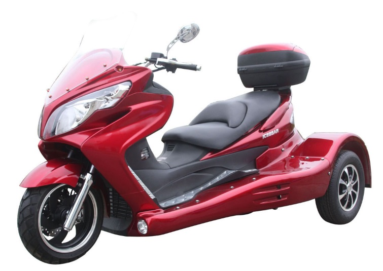 Zodiac 300cc Scooter Trike 3 Wheel Scooter Pst300 19