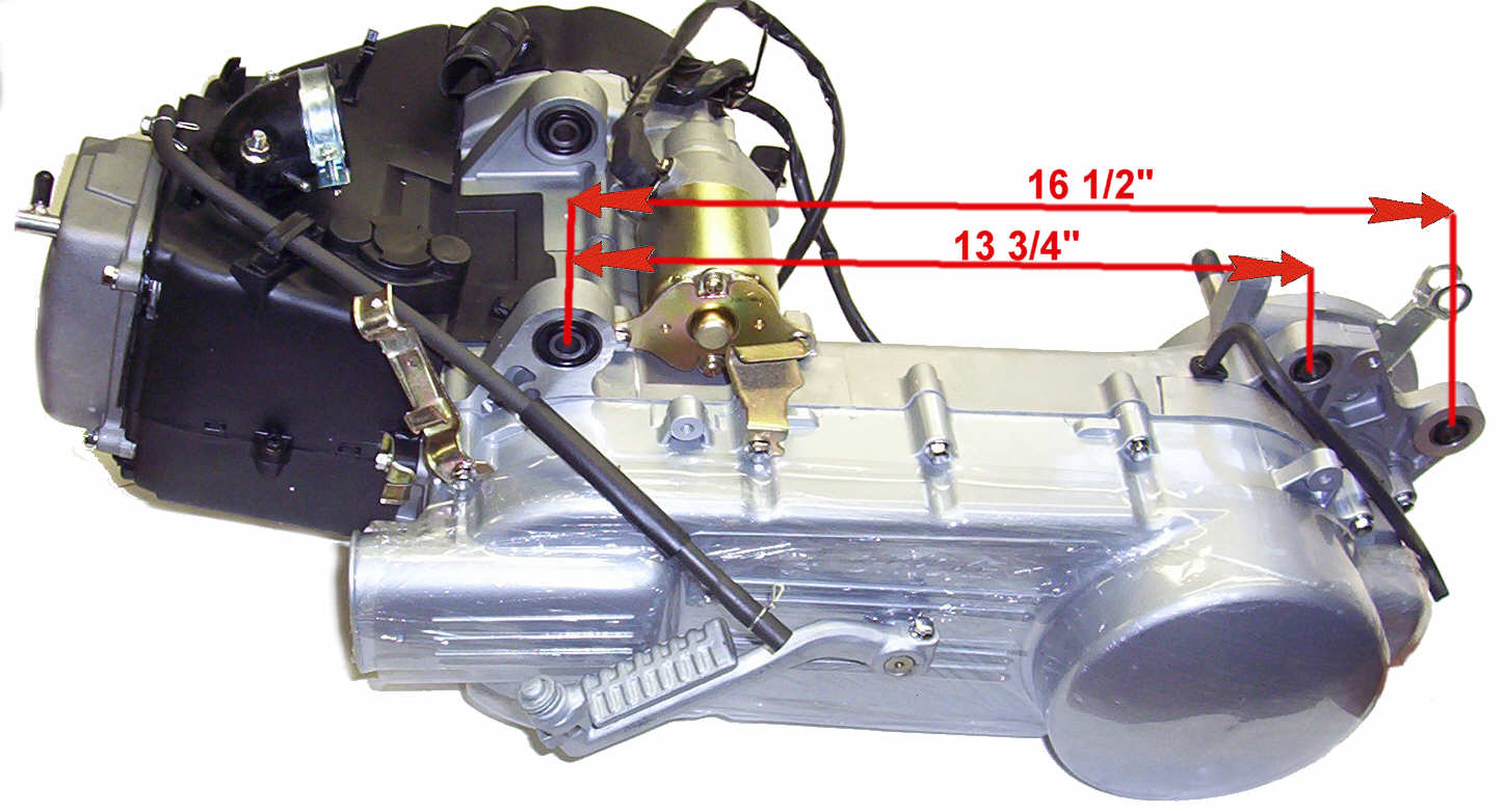 Engine Cclong on 150cc Gy6 Scooter Engine Parts