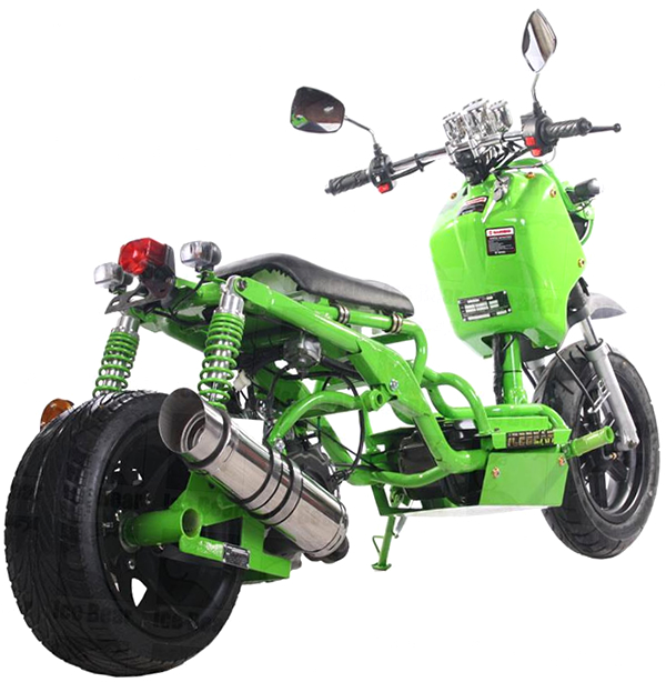 Pitbull Maddog 150cc Scooter Street Bike With 12 Quot Big