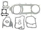 Complete gasket set for the Long-Case GY6 150cc, 4-stroke short-case engine