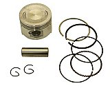 50cc Scooter 4-stroke QMB139 47mm Piston Kit with Rings