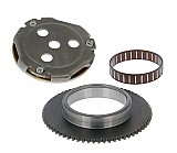 101 Octane starter clutch for Chinese Minarelli clone 50cc 2-stroke engines
