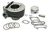 Universal Parts 57.4mm Stock Cylinder Kit for 150cc GY6 4-stroke Gas Engines