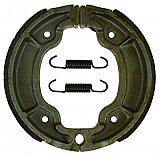 Hoca 125mm Performance, rear drum brake shoes for GY6 based scooters