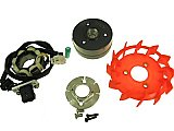 Performance Alternator Stator Kit for 49cc 50cc QMB Chinese Scooter