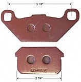 Rear Brake Pad Set for Hammerhead 250cc Go Cart Kart and more