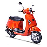 Wolf Lucky 150cc Retro Gas Scooter Moped Street Legal 2 Year Warranty