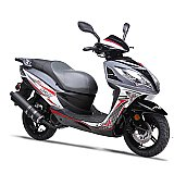 Wolf EX-150 150cc Gas Scooter Moped Street Legal 2 Year Warranty