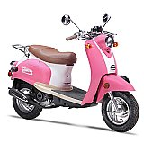 Wolf Islander 50cc Gas Scooter Moped 49cc Street Legal 2 Year Warranty