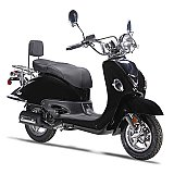 Wolf Jet 50cc Retro Gas Scooter Moped 49cc Street Legal 2 Year Warranty