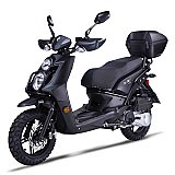 Znen Amigo Jax RX150 150cc Gas Scooter Moped 4 Stroke with USB and Alarm