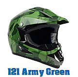 Extreme Camo Spiderman Matching Off Road Helmet Youth DOT