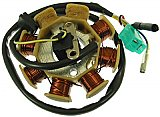 Stator Assembly Type-1 49cc 50cc QMB Scooter