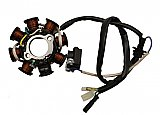 Tank Touring 150cc Scooter 8 Coil Stator Magneto DC