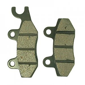 Brake Pads used  for 250cc 4-stroke water-cooled engines