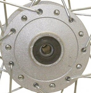 Dirt Bike 14 inch Front Wheel Assembly Disc Brakes XR CRF