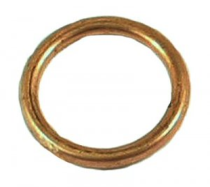 Exhaust Pipe Gasket Round 50cc 2-stroke 1PE40QMB Minarelli engines