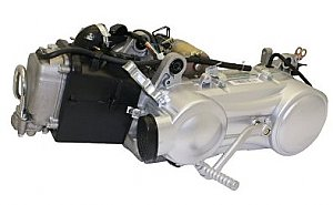 150cc 4 Stroke GY6 Scooter Complete Engine Assembly. Short Case