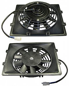 Tank Touring 250cc Scooter Square Radiator Fan
