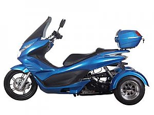 Spirit 50cc Gas Scooter Trike Three Wheel 3