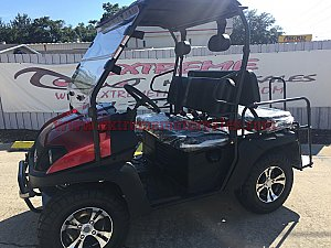 HJS Bighorn 200 GVX 200cc Utility Vehicle SXS UTV Golf Cart