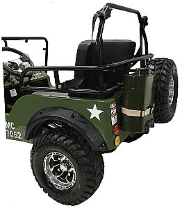 Commando Jeep Willy's Mini ATV 125cc Go Cart Kart UTV Golf Cart