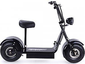 Moto Tec FatBoy 500W 48V Electric Scooter Stand On Ride On Fat Tire