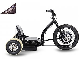 Moto Tec Motorized Electric Drifter Trike 3 Wheel 48v 500W