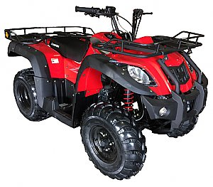 Canyon Utility ATV 250cc Semi-Auto Quad Shaft Drive 5 Speed with Reverse