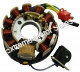 11 Coil AC Stator for 150cc and 125cc GY6 4-stroke QMI152/157 QMJ152/157