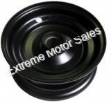 Front Black Rim Wheel for Torpedo/ Shark and Trailmaster Mini XRX/XRS