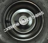 Rear Black Rim Wheel for Torpedo/ Shark and Trailmaster Mini XRX/XRS
