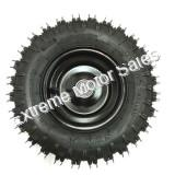 Front Tire and Black Wheel Assembly Torpedo/ Shark/ Mini XRX/XRS