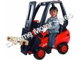 Big Linde Forklift Pedal Riding Toy for Kids Tractors Vehicle
