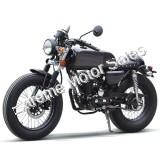 Cafe 250cc Old School Style Motorcycle Custom Chopper