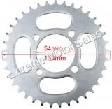 Dirt Bike Chain Sprocket 37 Tooth 420 Chain Chinese Pit Bikes 54mm