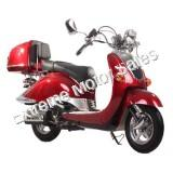 Paparazzi 150cc Gas Scooter Moped Classic Vintage Styled Scooter