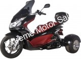 Spirit PST150-17 150cc Scooter Q6 Trike 3 Wheel