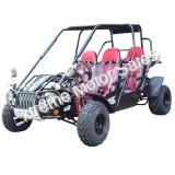 TrailMaster 300 XRS4 4 Person GoKart RED