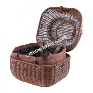 Prima Rear Scooter Basket Round with Removable Liner