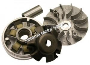 Variator Assembly with 115mm Drive Face for 150cc and 125cc GY6 engines