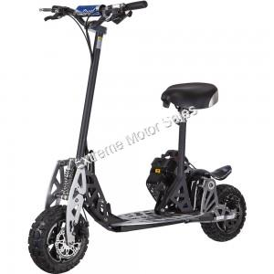 UberScoot 2X 50cc EVO 2 Stroke Gas Power Scooter Stand Up Powerboard