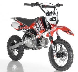 Apollo DBX6 125cc Kids Dirt Bike Pit Bike Fully Automatic Transmission Racing