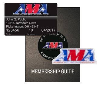 American Motorcycle Association Membership